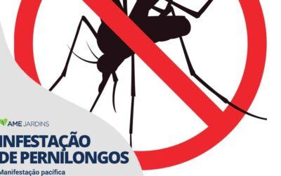 INFESTAÇÃO DE PERNILONGOS